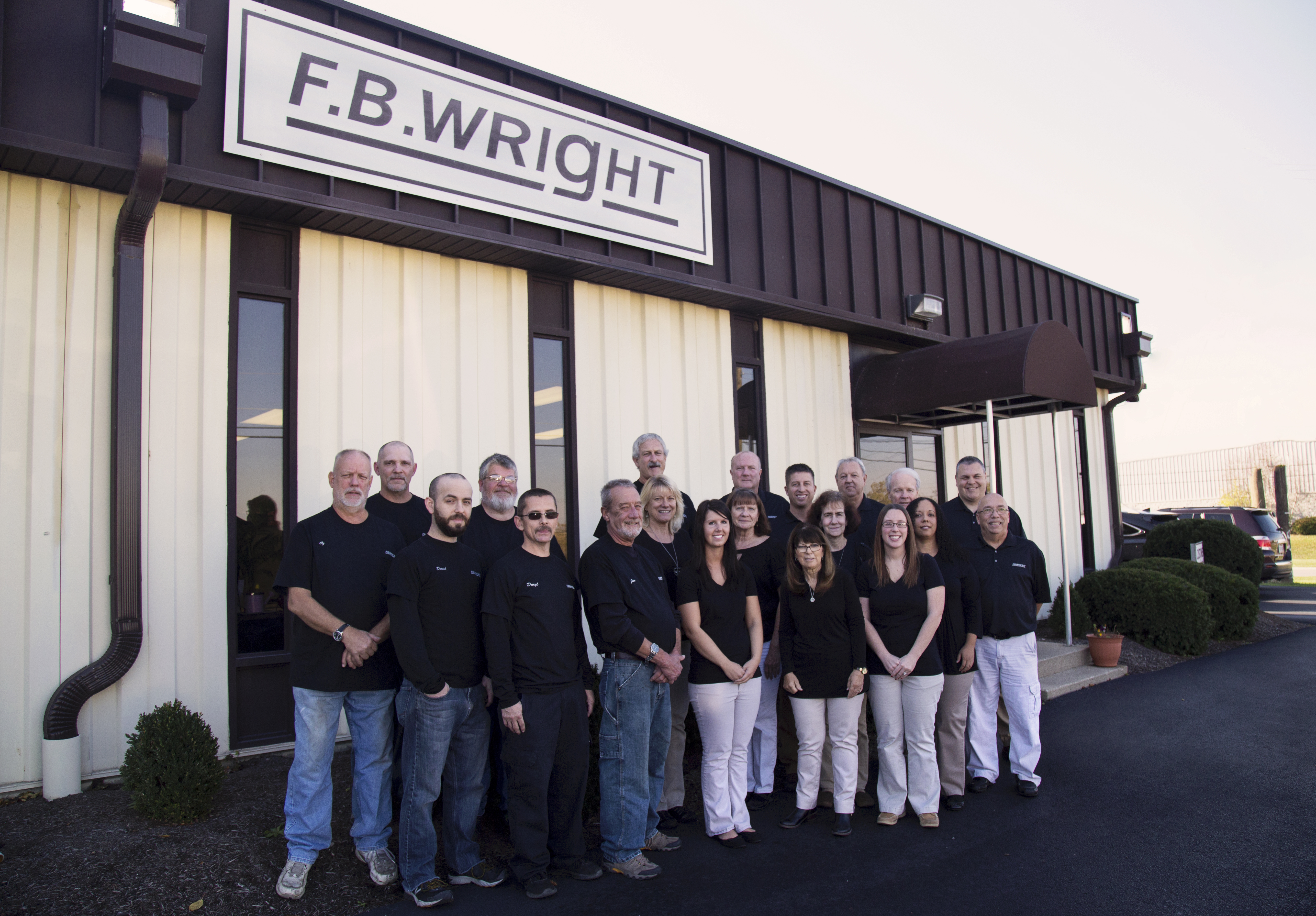 FB Wright Group Photo